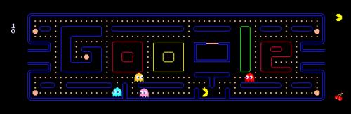 Google Pac-Man Logo